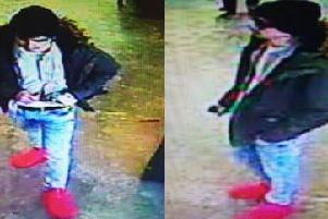 This person is wanted for alleged theft from a cash machine at Booths in Sharoe Green Lane, Fulwood on Thursday, January 17.