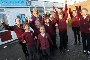 Pupils and staff at Warmsworth Primary School are celebrating after the best SATS results in Doncaster and 69th in the country.