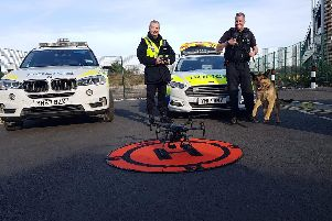 Police successfully use drone in hunt for men wanted in Doncaster
