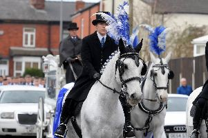 Billy Livesley's funeral