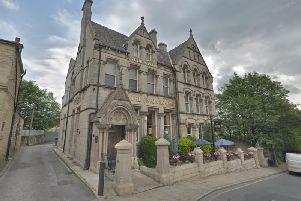 The Union Rooms Wetherspoons in Batley was the target of a robbery this morning.