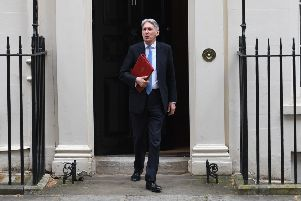 Phliip Hammond leaving the Treasury before the Spring Statement.