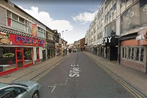 Silver Street, Doncaster town centre