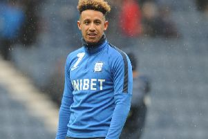 Callum Robinson returned to action off the bench in North End's win over Birmingham