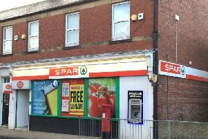 The Spar store in Seghill.