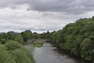 The body was pulled from the River Wear near Witton-le-Wear. Picture by Google