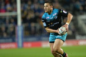 Tui Lolohea is back for Rhinos (Picture: Bruce Rollinson)