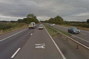 A1M in Doncaster. Picture: Google