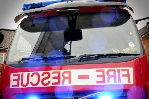 Fire crews from Preston were called to the scene