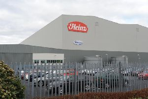 The Wincanton distribution centre for Heinz