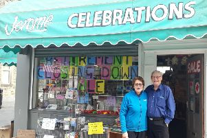 Margaret and Jerome Driver from Jerome Celebration Cakes.