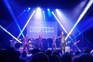 The Drifters play at Buxton Opera House on Easter Sunday.
