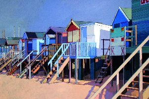 A picture by John Sprakes - Lifeguard Station