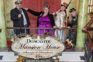 Steampunk at the Mansion House in 2017