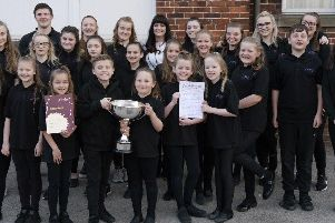 Youth Choir under 20s winner at Don Valley Arts Festival
