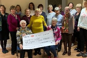Epworth and District Flower Club raises 1,500 for Alzheimer's Society