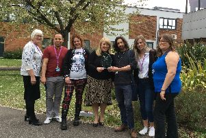 Hardworking staff celebrate DN Colleges Group award win