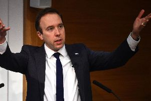 Health Secretary Matt Hancock has said he is ready to consider all options to increase vaccination levels, and branded those who promote the anti-vaccination myth morally reprehensible.