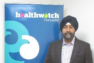Healthwatch Doncaster Board member Sucha Singh.