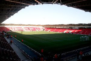 The Keepmoat Stadium.