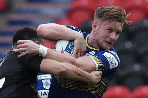 Connor Bower scored Doncaster's try.
