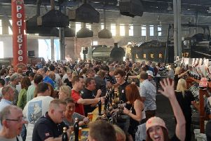 Rail Ale attracts beer lovers and rail enthusiasts alike