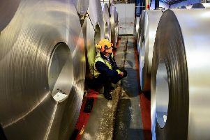 Embargoed to 0001 Wednesday May 01''File photo dated 15/02/17 of a worker inspecting rolls of steel as stockpiling of goods and materials by smaller firms reached record levels in recent months, a new study suggests. PRESS ASSOCIATION Photo. Issue date: Wednesday May 1, 2019. The CBI said its research indicated that small to medium sized manufacturers (SMEs) raised stocks of raw materials and finished goods in the last three months. See PA story INDUSTRY CBI. Photo credit should read: Ben Birchall/PA Wire