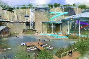 Designs for the waterpark.