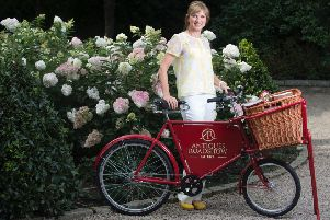 Fiona Bruce and the Antiques Roadshow team are at Lytham Hall on Tuesday