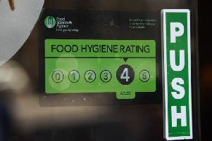 New data reveals that one in eight food businesses in Broxtowe is failing to meet acceptable food hygiene standards