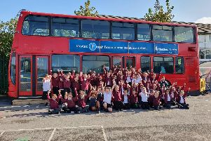 Funds raised by the Friends of Thornhill Junior and Infant School have helped by the bus