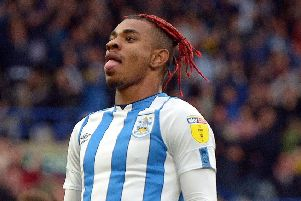 Juninho Bacuna: Equalised for Huddersfield.
