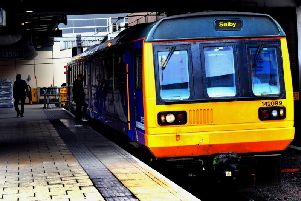 A Pacer on a Leeds to Selby service
