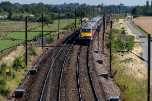 Rail services cancelled as person hit by train near Notts