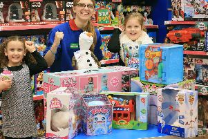 The top 10 Christmas toys for 2019 at The Entertainer with Georgina Lowiss. Picture: Chris Etchells