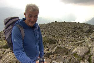 Adventurer Paul Rose hits the heights for his new BBC1 series, The Lakes with Paul Rose