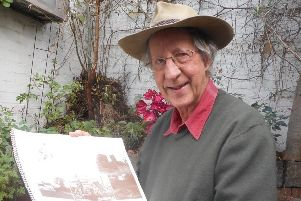 Ken Widdowson, who has traced his family tree back to Kimberley's old mill.