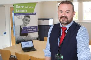 Simon Cook of the new Inspire programme at Hucknall Library