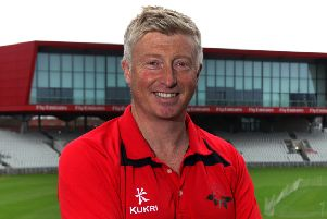 Lancashire coach Glen Chapple