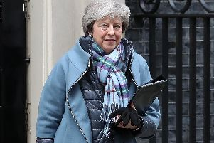 Britain's Prime Minister Theresa May. Pic: DANIEL LEAL-OLIVAS/AFP/Getty Images