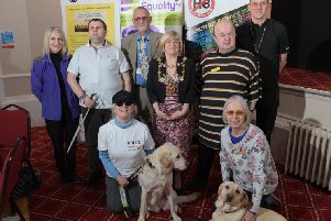 Members and supporters of Visual Impairment Forum For The Lancashire Area