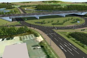 How the new Testo's roundabout will look as work starts on a new 175million scheme to improve journey times on the A19.