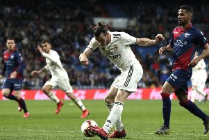 Gareth Bale's future at Real Madrid is yet to be decided. (Photo by Gonzalo Arroyo Moreno/Getty Images)
