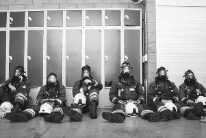 A still from the short film produced by Nottinghamshire Fire & Rescue Service.