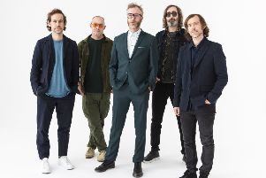 "The National - Promo shoot for ""I Am Easy To Find"" Album, NYC, April 22nd 2019"