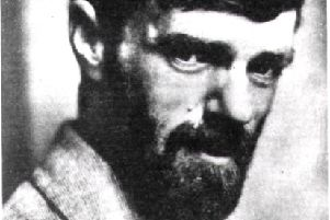 Photograph of D.H. Lawrence probably taken in the 1920s