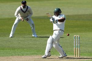 Samit Patel dug deep as Notts moved into a good position against Kent.