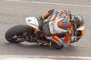 Dean Hipwell, who endured a troubled weekend at Brands Hatch.