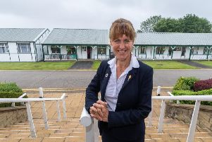 Minette Batters, president of the National Farmers' Union, at the 161st Great Yorkshire Show in Harrogate. Picture by James Hardisty.