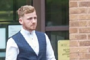 Pictured is Blake Kerry, 26, of Rye Crescent, Danesmoor, Chesterfield, who has pleaded guilty to causing death by dangerous driving.